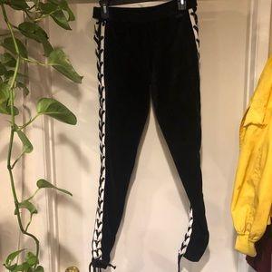 *never worn* fenty x puma velvet tie leggings